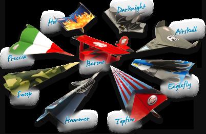 Colleziona tutti i modelli Wonderplane! wonderplane aerei carta livello 1 5cc64dc5c2f9